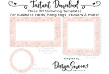Diy Business Branding! / Affordable business branding templates from our newest shop - www.DesignSwoon.com