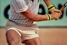 Tennislegender / Gamle og nye tennishelter