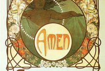 Alphonse Mucha. Graphics