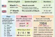 date in english