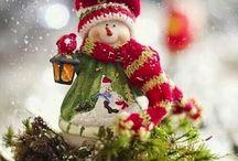 Bonecos de neves