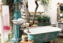 Outdoor bath