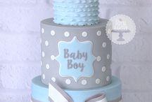 Torte e idee per battesimo boy
