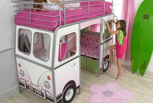kids bed & furniture