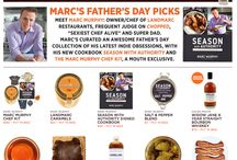 "Marc Murphy's Father's Day Picks / Meet Marc Murphy: owner/chef of Landmarc restaurants, frequent judge on ""Chopped,"" and super dad. Marc's curated an awesome Father's Day collection of his latest indie obsessions, with his new cookbook ""SeasonWithAuthority"" and The Marc Murphy Chef Kit, a Mouth exclusive. / by MOUTH"