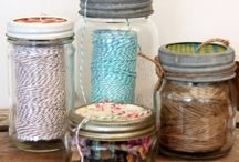 Craft/Sewing Room / Craft/Sewing Room Designs and Organization Ideas.
