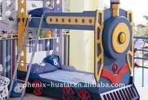 Train bedroom / by Poppy&Boo