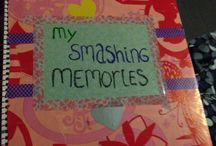 Mijn smashbook/art journal