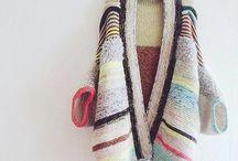대바늘 뜨개질
