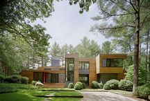 Dream House / We've got the perfect property and big dreams for a mod house :) / by Angie Fischer