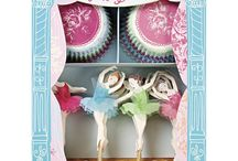 Ideas for a Ballerina Themed Party / Inspiration and ideas for a birthday party or any party for a ballerina dancer. Ideas for cakes and cupcakes as well as sprinkles and cupcake kits that you can use