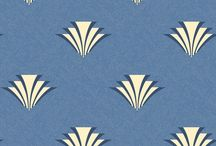 art deco wall paper