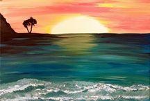Sanat deniz manzaralari
