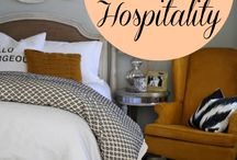 •hospitality• / the special gift of welcoming people in