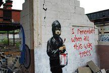 banksy<3 / by Rianna Somogyi