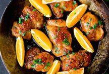 Oranje gerechten