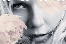 Magazine Covers / Fashion  layout