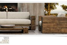 In the Garden // decor / urban gardens decor, intimate gardens decor and furniture I could never buy / by Melanie Saucier