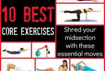 Yoga en oefeningen
