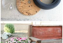 Easy and recycling garden