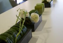Corporate event flowers / contemporary innovative event design and florals by Atelier Joya
