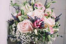 Wedding flowers, colours etc