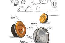 NeoRetro design phone / vintage designed phone with cutting edge technology