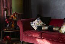Red Sofa's / by Venita Gilchrist