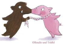 Rosalie und Trüffel <3 <3