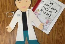 Kindergarten community helper