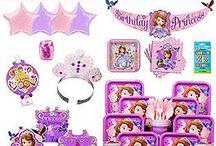 Sofia The First Birthday Party Ideas / Your Favorite Disney Princess Birthday Theme Party.