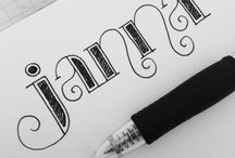 Lettering, fonts, etc / by Jennifer Snow