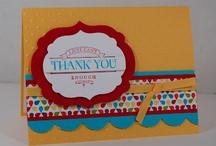 Cards - Thank You / by Carollee Washington
