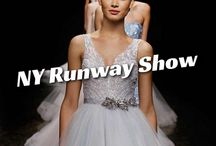 ON THE RUNWAY WITH LAZARO / by JLM Couture