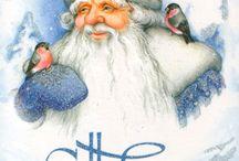 рождество и новый год (открытки)