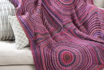 For the love of knitting and crocheting / by Anja Kaufmann