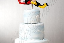 Paragliding cakes