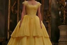 dress making beauty and the beast