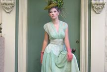 Colorful Dresses / Vintage dresses for bridal, prom or special occasion