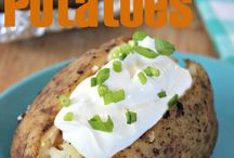 Taters, Taters, Taters / by Liz Mays