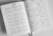 Bujo - calendar