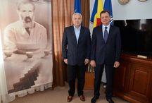 Întrevederea ministrului delegat Angel Tîlvăr cu ambasadorul Ucrainei la Bucureşti