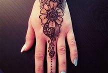 Chromatika Henna / Personal works using natural henna