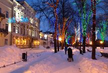 Odessa in Winter / Odessa in winter. Yes, it does snow here!!:))