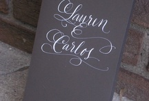 Calligraphy / by Diana Latham
