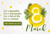 Women's Day Gifts Ideas / Send Online best gifts for women's day for the lady love in your life from IGP.com.