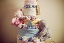 We love... Nappy Cakes! / Some of our nappy cakes we've designed & created