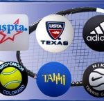 Custom tennis string dampeners / Our tennis string dampeners are imported.  It is one of the few items that we are not able to make in the USA.