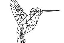 Geometrische Muster Sticken