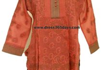 Short Cotton Chikan Kurtis / Best Collection of Cotton Kurtis in Chikankari Embroidery.  You can buy these from Dress365days